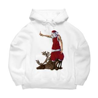 santa Big Hoodies