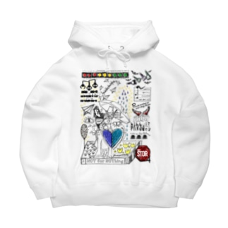 NOT for NOThing -draft- Big Hoodies
