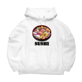 SUSHI_1_C Big Hoodies