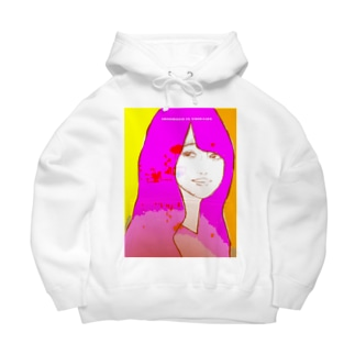 absorbed in thought Big Hoodies