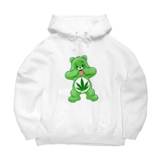 420ベア Big Hoodies