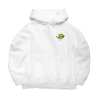 Lime Drop* Big Hoodies