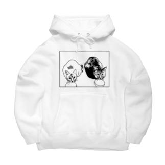 GOMOKUHARUSAME T-Shirt Big Hoodies