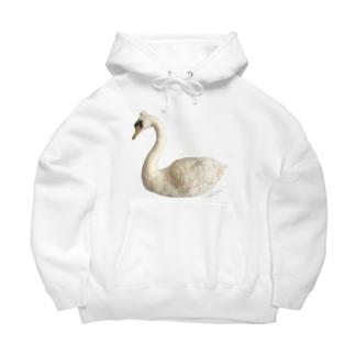 Swan(北原のり子) Big Hoodie