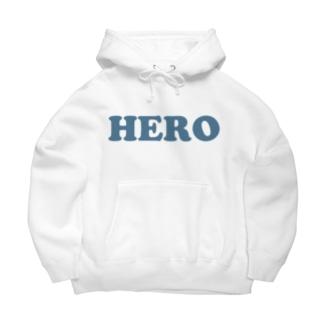 HERO 英雄・ヒーロー Big Hoodie