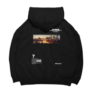 SAMULAI  Express 中侍道敦豪!! Big Hoodies