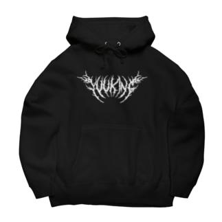YuukingStoreのDeath Metal Logo Big Hoodies