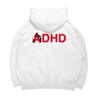 ADHD Parker Big Hoodies