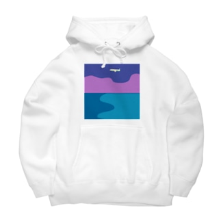 Night flight Big Hoodies