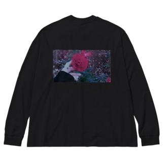 hisou Big silhouette long sleeve T-shirts
