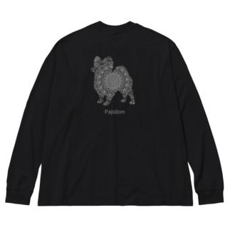 花月 パピヨン Big Long Sleeve T-shirt