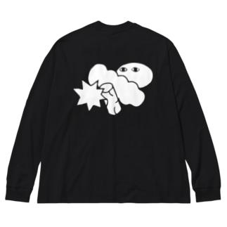 投憶 Big silhouette long sleeve T-shirts