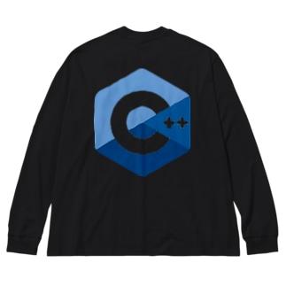 C++ Big silhouette long sleeve T-shirts