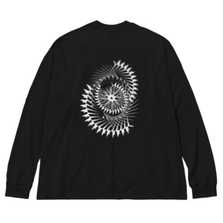 Origami Big silhouette long sleeve T-shirts