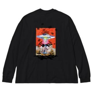 永遠に引き立て役の玉ねぎ Big Silhouette Long Sleeve T-Shirt