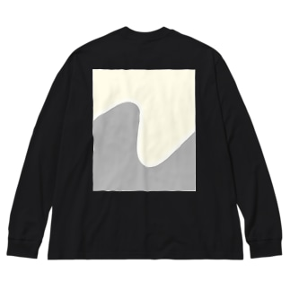 Silver Lining  Big silhouette long sleeve T-shirts