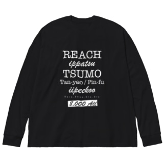 LETTERS - 8000all Big silhouette long sleeve T-shirts