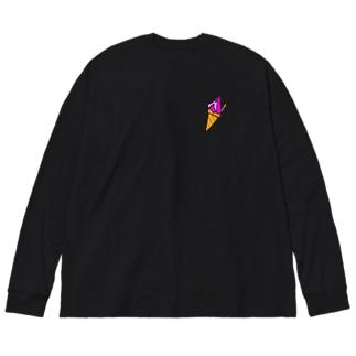 ジェラート好きの為の Big silhouette long sleeve T-shirts