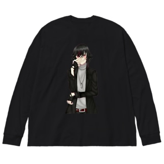 coniglio official goods Big silhouette long sleeve T-shirts