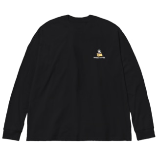 イナリライダー Big silhouette long sleeve T-shirts