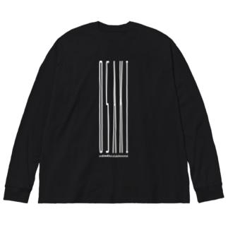 OSAKI Big silhouette long sleeve T-shirts