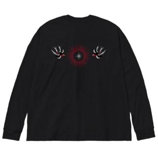 N358666710 Big silhouette long sleeve T-shirts