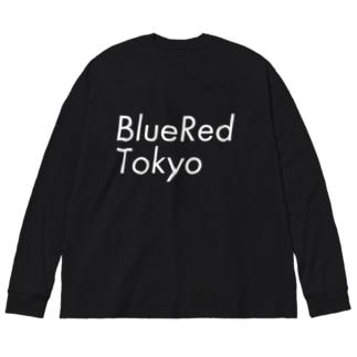 青赤東京~BlueRedTokyo~ロゴタイプ Big Silhouette Long Sleeve T-Shirt