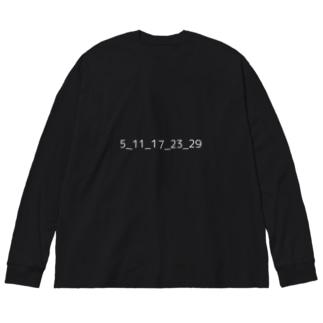 SPQ Big silhouette long sleeve T-shirts