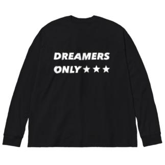 DREAMERS Big silhouette long sleeve T-shirts