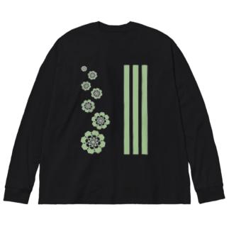 万華鏡の中の世界vol.1 Big silhouette long sleeve T-shirts