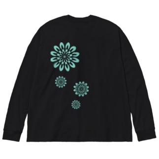 万華鏡の中の世界vol.2 Big silhouette long sleeve T-shirts