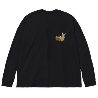ロイコクロリディウム Big silhouette long sleeve T-shirts