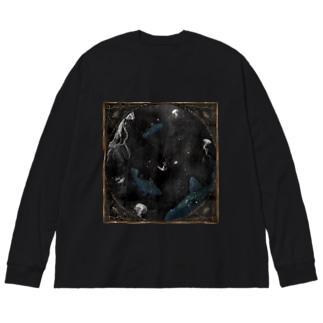 Devil's deep sea Big Long Sleeve T-shirt