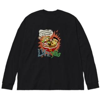 人生はあなたのもの Life is yours!! Big silhouette long sleeve T-shirts