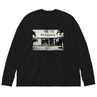 ファーマシー Big silhouette long sleeve T-shirts