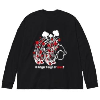 【各20点限定】いたずらぐまのグル〜ミ〜(#26) Big silhouette long sleeve T-shirts