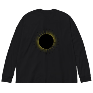 DARK MATTER Big silhouette long sleeve T-shirts