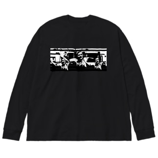 11月1日 Big silhouette long sleeve T-shirts