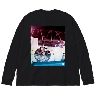 2020 S 008 lt Big silhouette long sleeve T-shirts