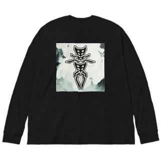 「異界」ビッグシルエットロングスリーブTシャツ Big silhouette long sleeve T-shirts