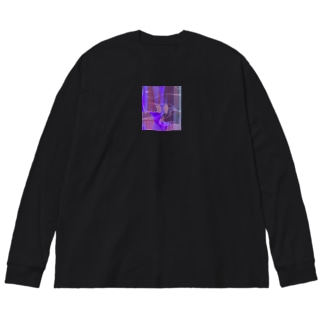 手!!! Big silhouette long sleeve T-shirts