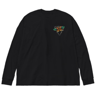 MOTHer Big silhouette long sleeve T-shirts