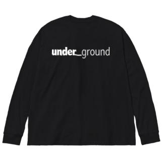 un_grn  Big silhouette long sleeve T-shirts