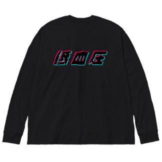 低血圧 Big silhouette long sleeve T-shirts