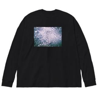 ミズノナカ Big silhouette long sleeve T-shirts