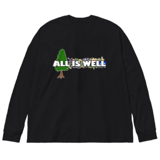 ALL IS WELL Big silhouette long sleeve T-shirts