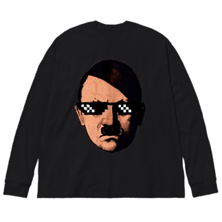 Mr Dictator Big silhouette long sleeve T-shirts