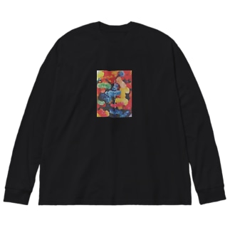 JELLY Big silhouette long sleeve T-shirts