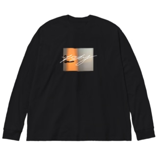today Big silhouette long sleeve T-shirts