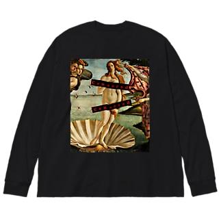 Censoerd Big silhouette long sleeve T-shirts